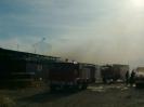 Pińsko 15.02.2011 pożar obory